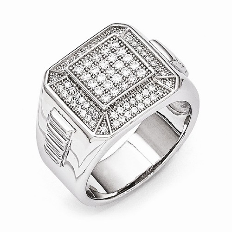 s sterling silver cz brilliant embers ring
